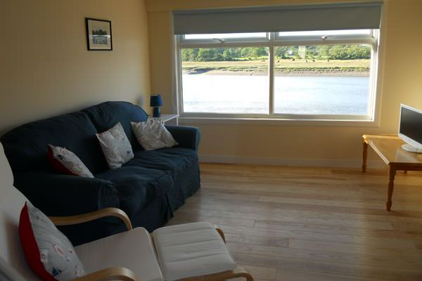 Sitting room in The Boathouse